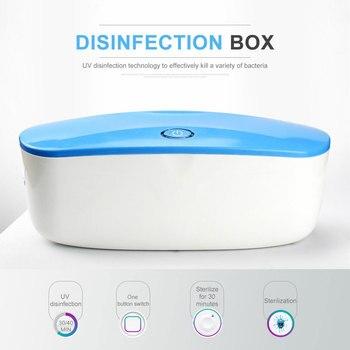 UV cepillo de dientes ropa interior esterilizador ultravioleta desinfectante USB desinfección cosmético...