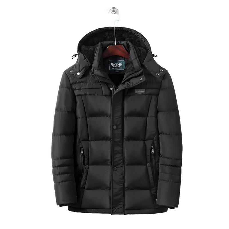 Cotton-padded Clothes Men's Winter Outdoor Mid-length Only USB Charging Fever Jacket Cotton-padded Jacket Heating Cloth