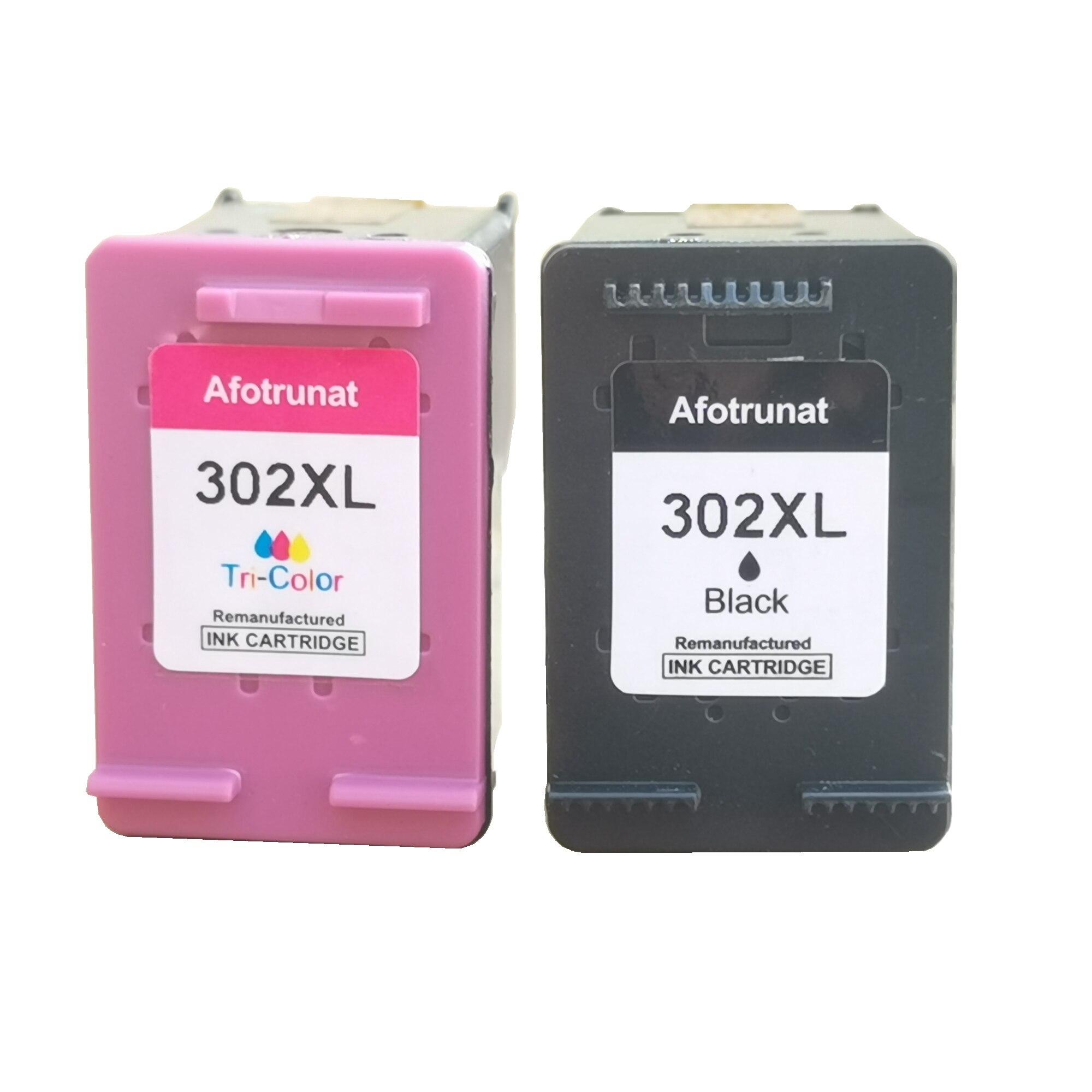 Afotrunat Совместимость 302XL чернильный картридж для HP 302 XL для hp 302 с чернилами HP Deskjet 2130 2135 1110 3630 3632 Officejet 3830 3834 4650