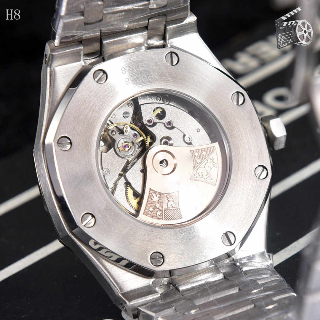 שוחק נירוסטה גברים אוטומטי Wristwatche שחור חיוג עיצוב מלא פלדת לוח שנה עמיד למים גדול שעונים למעלה מותג יוקרה שעון