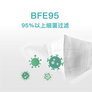 Image 4 - במלאי חדש Youpin Airpop ילדי מסכת ילד מסכות אנטי ערפל מסכת הגנה לנשימה אוויר ללבוש פנים מסכת בנים בנות 10pcs
