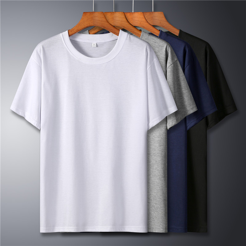 Classic High Quality Fashion 100%Cotton T Shirt Large Size Men Women T-Shirt Short Sleeve Solid Casual Tee Shirt Summer Clothing