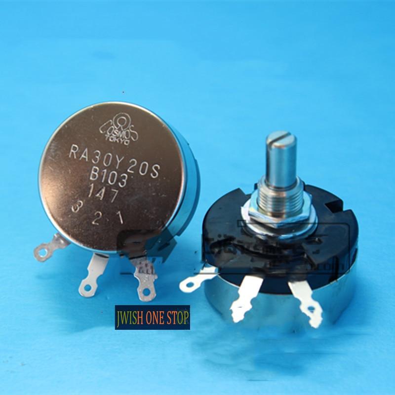 Кольцевой потенциометр RA30Y20S мощность 2,5 W 10k B103
