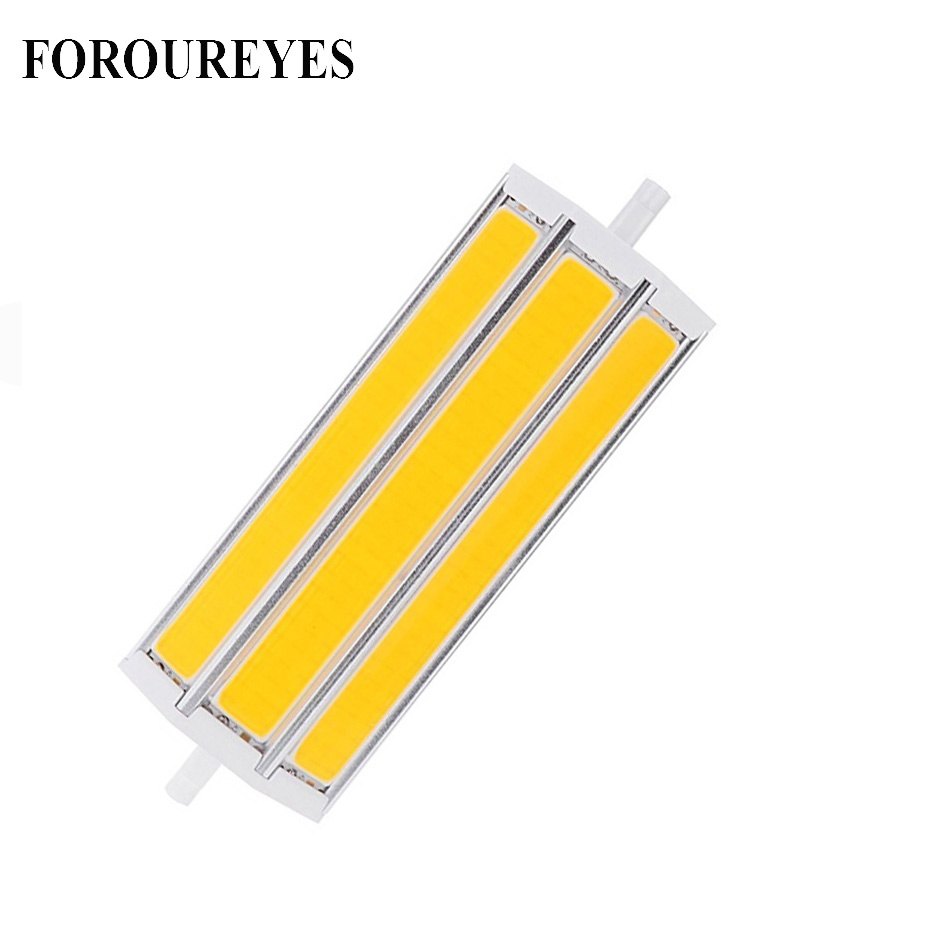 <font><b>R7S</b></font> <font><b>LED</b></font> Bulb Floodlights Lighting 78mm 118mm Flood Light Ac85-265v COB <font><b>LED</b></font> Sportlight Replace 50W 60W Halogen Lamp image
