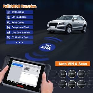 Image 3 - Autel MaxiSys MS906BT סריקת כלי רכב אבחון עם ECU קידוד, פעיל מבחן, IMMO מפתחות, OE רמת אבחון שמן איפוס, EPB, SAS,