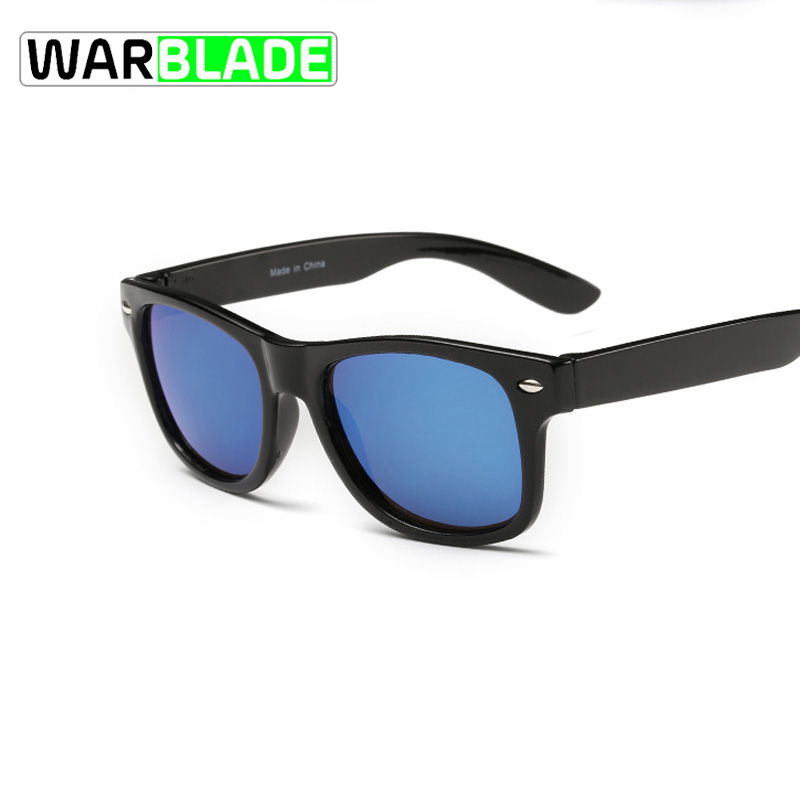 Warblade Sunglasses Uv400-Protection Sun-Shading Kids Anti-Uv Fashion Boys Rivet-Gafas
