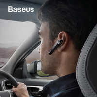 Baseus A01 bezprzewodowe słuchawki Bluetooth Mini biznesowe przenośne słuchawki z mikrofonem dla xiaomi iPhone jazdy Fone De Ouvido