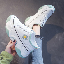 Women Platform Shoes Fashion Sneakers Height Increasing Woman Casual Loafers Comfortable Soft Bottom New Student Skateboarding tuinanle chunky sneakers high heel 10 cm women autumn thick bottom platform sneakers height increasing woman silver casual shoes