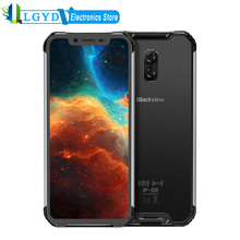 Blackview BV9600 Android Handy 6,21 zoll MT6771T Octa Core RAM 4GB 64GB Zelle Drahtlose Lade Dual SIM NFC OTG Smartphone