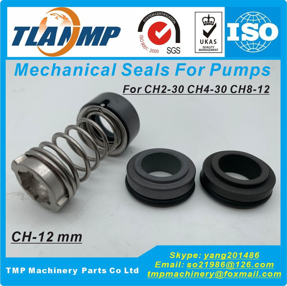 CH-12, CH2-30, GLF-D-12 Mechanical Seal met As Size 12mm Voor CH2-30/CH4-30/CH8-12 CR2/4 SPK2/4 airconditioning pompen