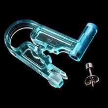 1 шт одноразовый стерильный ушной прибор для пирсинга здоровая безопасность Asepsis Ушные Шпильки для пирсинга пистолет инструмент для пирсинга комплект