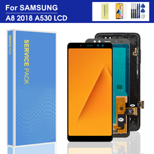 For Samsung Galaxy A8 2018 A530 A530F A530FD LCD display and Touch Screen Digitizer Assembly A8 2018 LCD SM-A530DS Screen