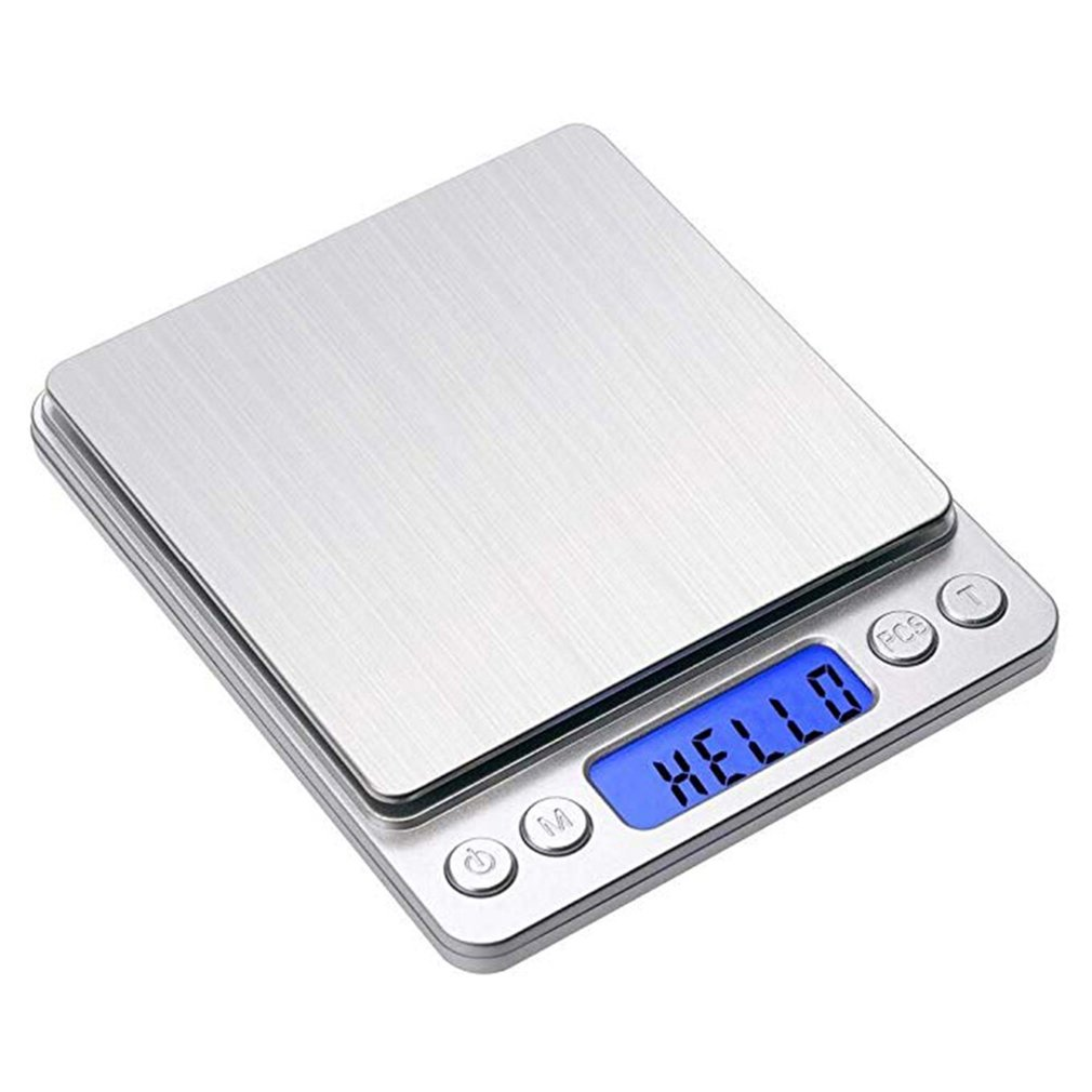 Gram Scale Digital Kitchen Scale Mini Food Scale High Precision Lcd Display Jewelry Weight Scale With Platform