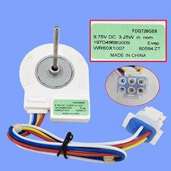Refrigerator Ventilation Fan Motor Reverse Rotary Motor FDQT26GE6 DC9.75V 3.25W fan freezer without temperature-sensing head