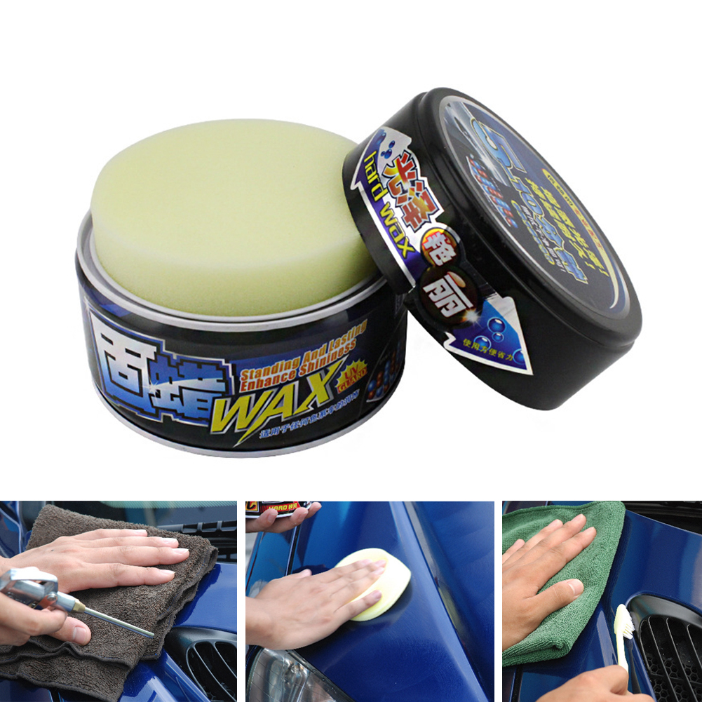 Car Solid Wax Paint Care Protection Scratch Repair Wax Polish For Clear Auto Coating Nano Polishing Paste Remove Scratches