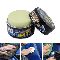 Car Solid Wax Paint Care Protection Scratch Repair Wax Polish for Clear Auto Coating Nano Polishing Paste Remove Scratches Hard Wax Automobiles & Motorcycles -