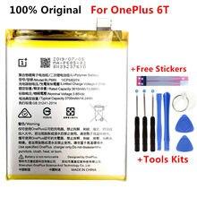 Batterie de remplacement Li-ion pour OnePlus 6T A6010 BLP685, 3700mAh, outils gratuits