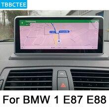 For BMW 1 E87 E88 2005-2012 Car multimedia Android Auto radio Car Radio GPS player Bluetooth WiFi Mirror link Navi HD Screen цена в Москве и Питере