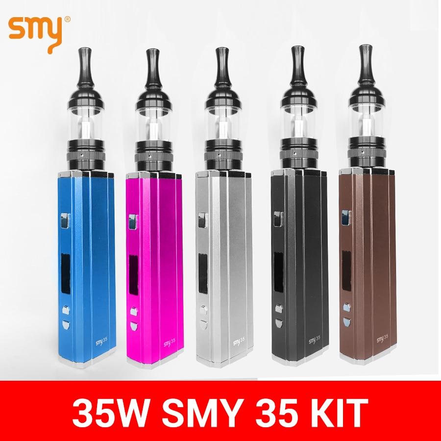 Vape SMY 35 Kit Electronic Cigarette Box Mod 35W With GDC Tank  E Cigarette Electronic Hookah Vaporizer Pen Coil