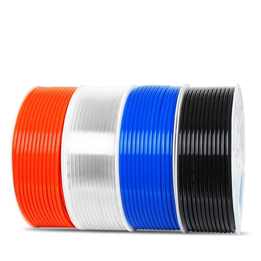 Air Pneumatic Fitting Polyurethane PU Air Tube Hose 4mm x 2.5mm 20m