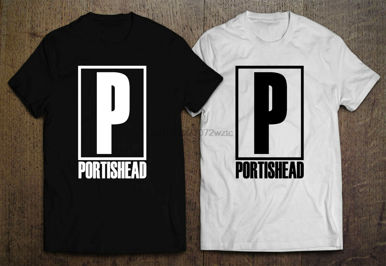 New Portishead Band Portishead Album Cover Logo Men/'s White T-Shirt Size S-3XL