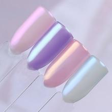 1 Box Pearl Nail Glitter Powder Mirror Matte Effect Glitter Laser Dust Manicure Shimmer Pigment Nail Decoration
