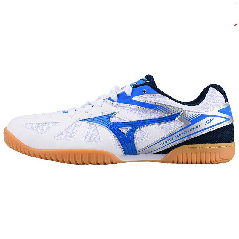 Оригинальная обувь Mizuno Cross Match Plio Cn для настольного тенниса для мужчин и женщин; обувь для тренировок в помещении; амортизирующая национальная команда; кроссовки - Цвет: 81GA183427