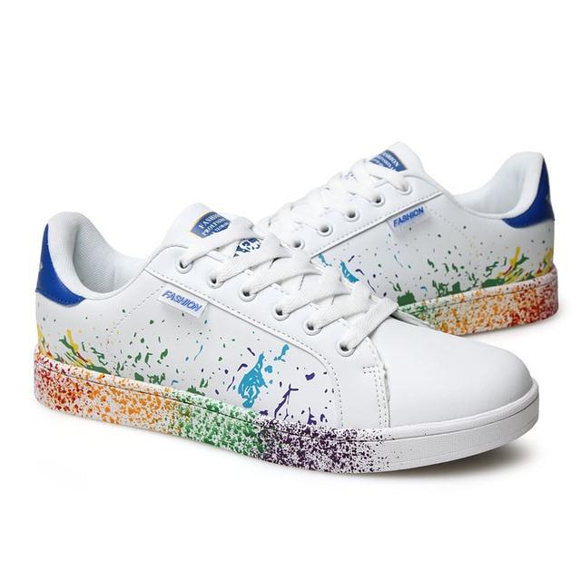 Fashion PU Graffiti Sneakers 2