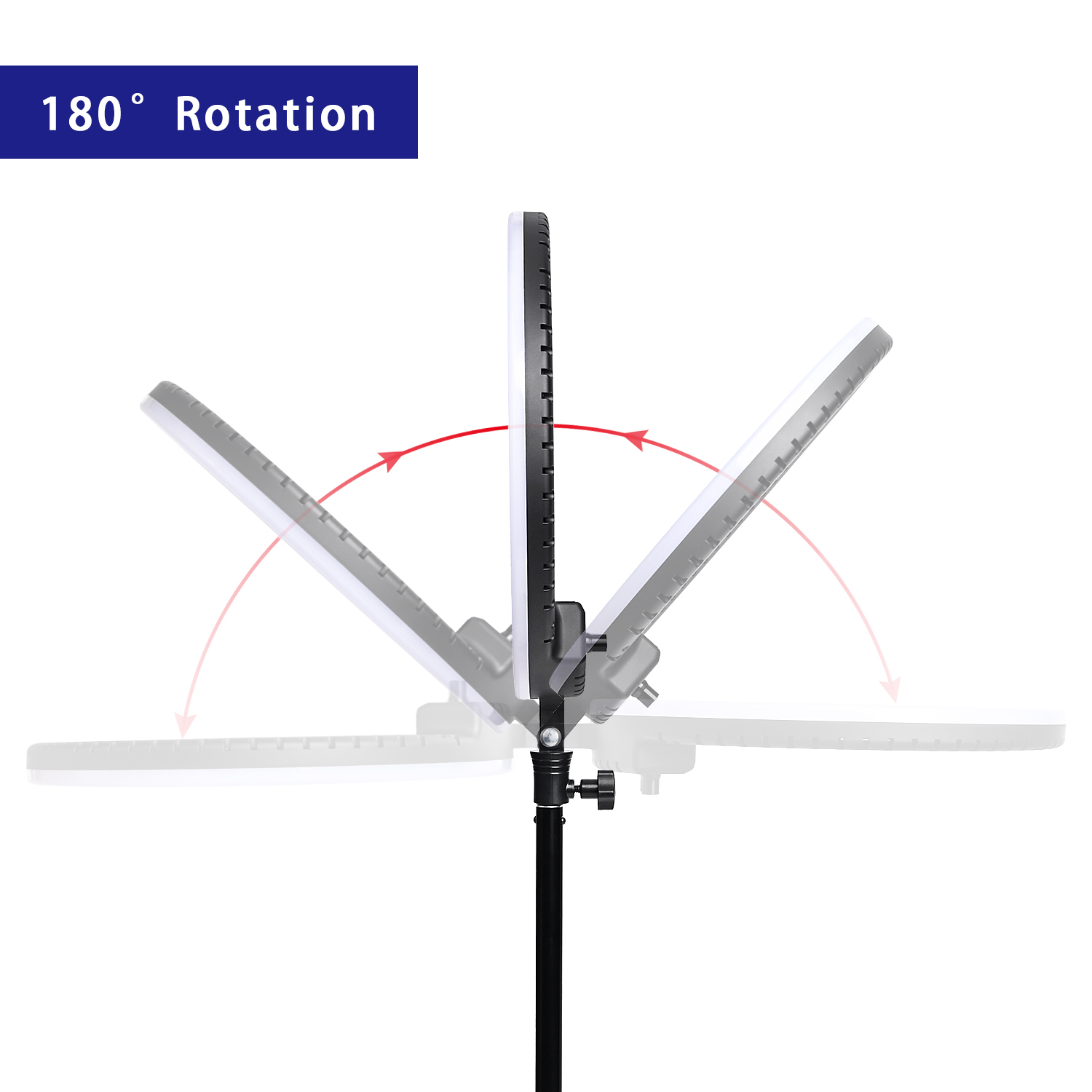 H35cbfe1dd64c46d4b30168dea362c9f5W fosoto LED Ring Light Selfie Photo Photography Lighting Ringlight lamp With Tripod Stand For Photo Studio Makeup Video Live Show