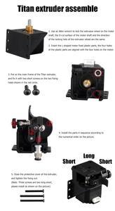 Image 5 - Titan Extruder 3D Drucker Teile Für MK8 E3D V6 Hotend J kopf Bowden Montage Halterung 1,75mm Filament
