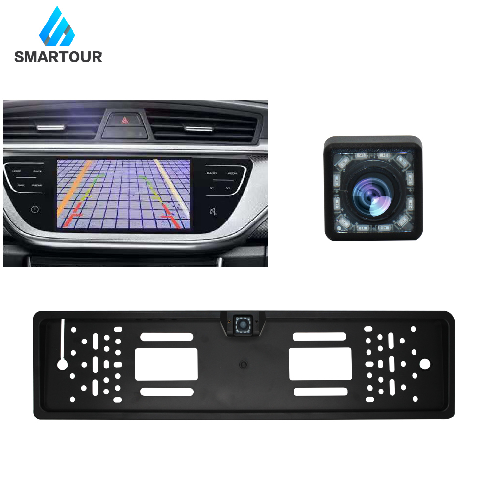lowest price Car 170 Degree Rear View Reversing Backup Camera Brake Light Night Vision for Fiat Ducato Car Waterproof High Quality