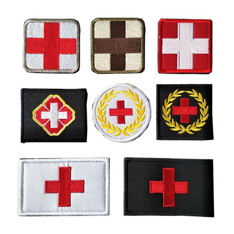 Lovely Outdoor Products Sticker Armband The Medical Rescue Of The Red Cross Chapter Morale Military Sticker Badges