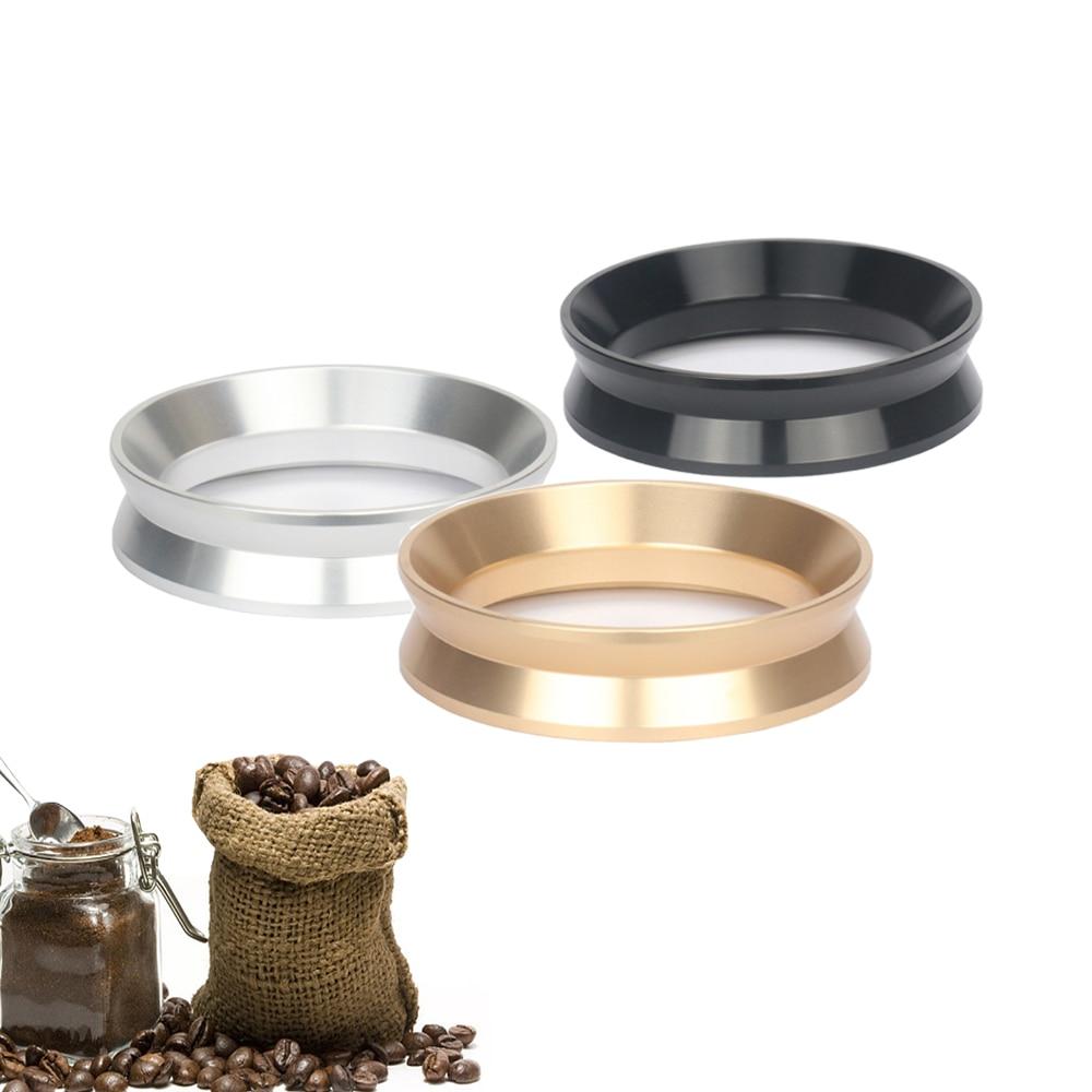 Stainless Steel Espresso Coffee Tamper 51/54/58MM Breville Delonghi Krups Aluminum IDR Intelligent Dosing Ring Profilter Tool