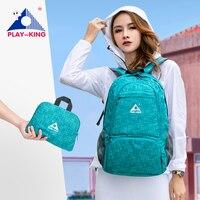 ABSPIELENKING Leichte Nylon Faltbare Rucksack Multicolor Wasserdichte Outdoor Sport Camping Wandern Reise Folding Taschen