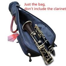 Профессиональный портативный кларнет посылка сумка рукав чехол детали кларнета противоударный водонепроницаемый Мягкий плечо