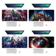 The Avengers 90x40cm Natural Rubber Super Large PC Mousepad Gamer Gaming Mouse Pads XL Desk Keyboard Mat for Computer Laptop
