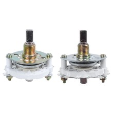 2 Pcs Plastic Knob Band Channel Rotary Switch , 2P5T 2 Poles 5 Position & 1P6T 1 Pole 6 Throw(China)