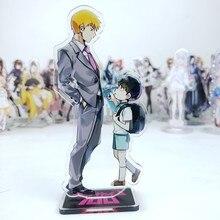 Anime mob psycho 100 mobu saiko hyaku acrílico suporte figura desktop decoração coleção modelo boneca de brinquedo presentes