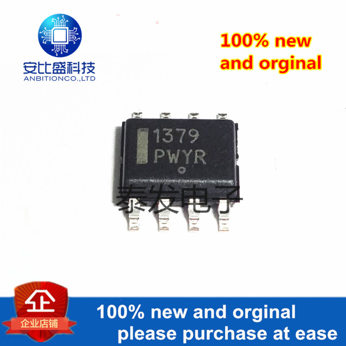 10pcs 100% New And Orginal NCP1379DR2G SOP8 Quasi-Resonant Current-Mode Controller For High-Power Universal Off-line In Sto