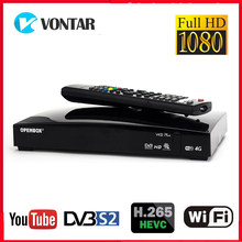 OPENBOX-receptor satélite V8S Plus, DVB-S2, TV box con receptor satélite digital, compatible con Xtream, YouTube, clave Biss, USB, Wi-Fi, módem 3G