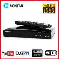 Openbox V8S Plus Receptor de satélite DVB S2 Digital por satélite caja receptora de TV apoyo Xtream Youtube Biss clave WiFi USB módem 3G