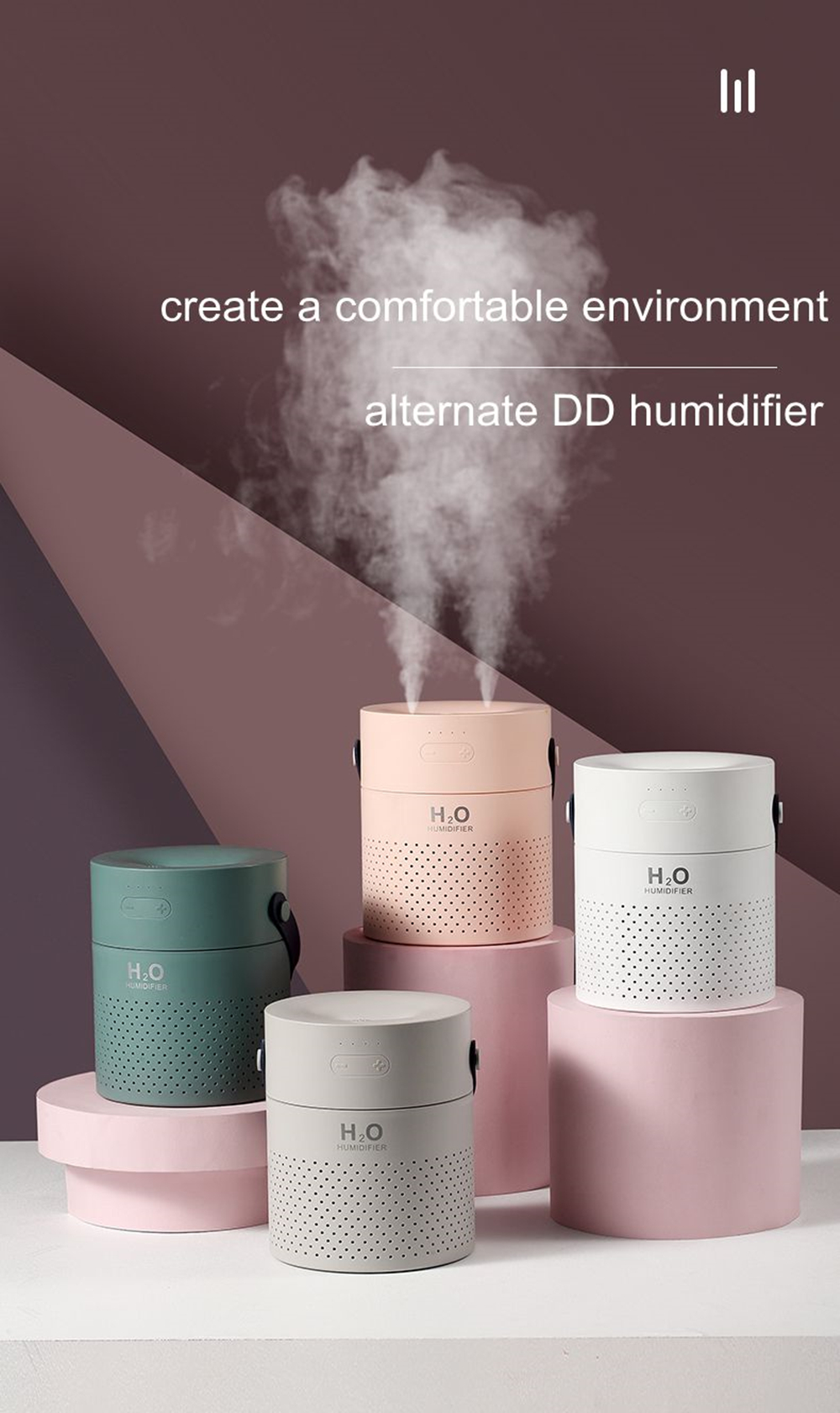 2019 USB Air Diffuser Essential Aroma Oil Humidifier Home Relaxing Defuser