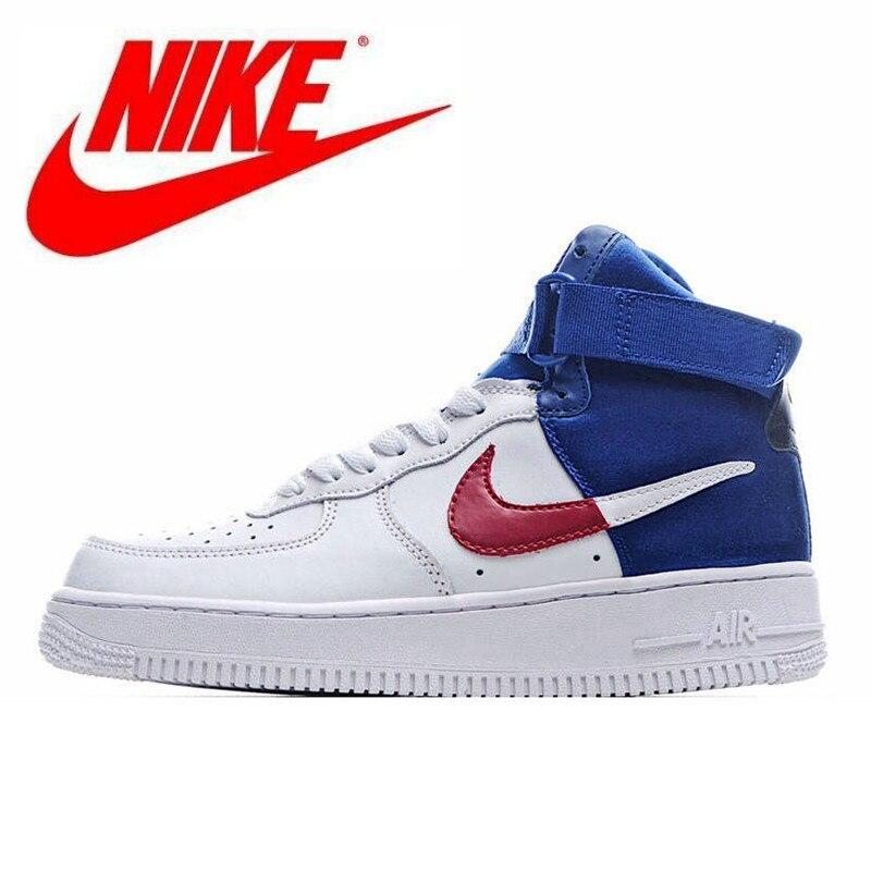 Nike Air Force 1 High 07 LV8 1 изображением самого ценного игрока NBA из Для мужчин, высокие кроссовки удобные Размер 40-45 BQ4591-102