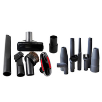 15 pces cabeça de sucção plana bocal escovas 2 em 1 ponta para 32mm/35mm aspirador de pó peças bicos coletor de poeira|Escovas de limpeza| |  -