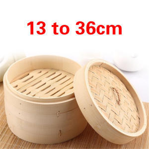 Bamboo Steamer Cookware Snack-Basket-Set Cooking-Tools Vegetable One-Cage Fish-Rice Kitchen