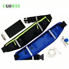 Waist Bags Women Men Fanny Arm Band Pack Waist Belt Bag Waist Packs Chest Phone Pouch For xiaomi redmi note 7 8  Cover Sport Bag