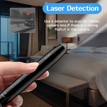 Limited At A Low Price-Anti Hidden Camera Detector Pen RF Signal Eavesdropping Cam Spy Gadgets Wireless GSM GPS Audio Bug Finder 3