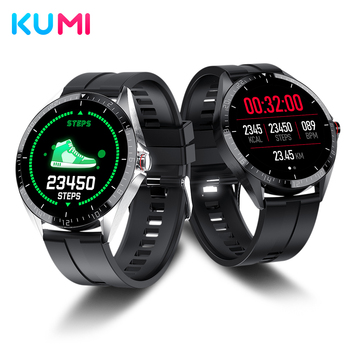 KUMI GW16T 1.3 inch Smart Watch Men Full Touch Sport Heart Rate Sleep Monitor IP67 Waterproof iOS Android Upgrad Global Version - discount item  20% OFF Smart Electronics