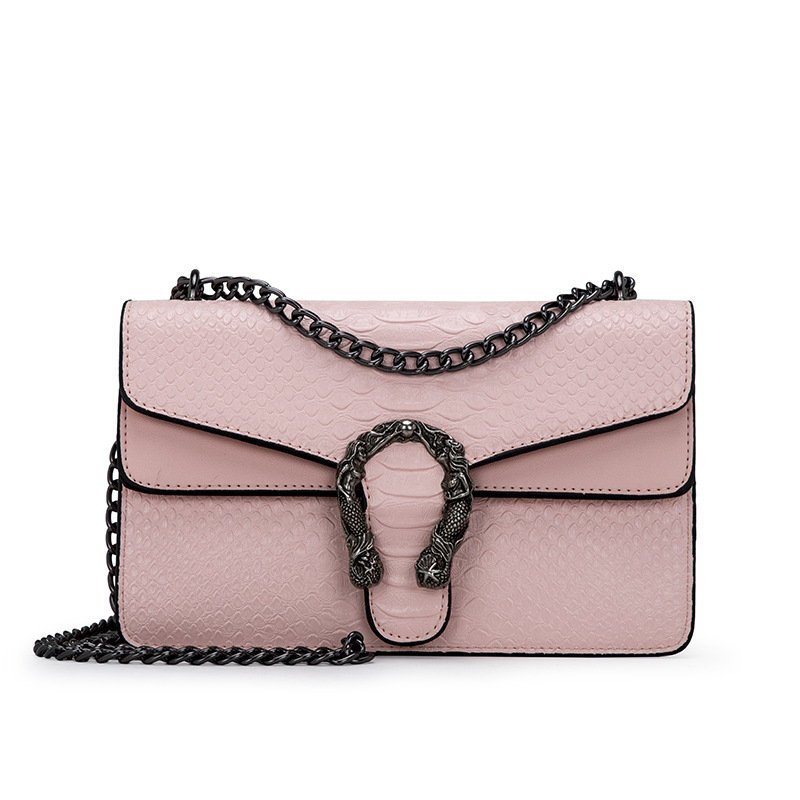 Alligator Leather Chain Shoulder Bags For Women 2019 Famous Brand Woman Bags Luxury Brand Women Shoulder Wallets And Bags Flap