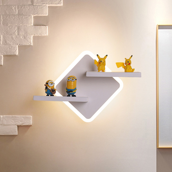 Personality creative bedside wall lamp Nordic modern living room wall decoration simple bedroom lamps